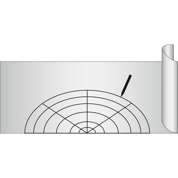 Folie antialunecare Wenko Anti Slip, 150 x 50 cm, gri