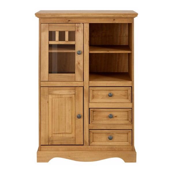2-drzwiowy   kredens z 3 szufladami z litego drewna sosnowego Støraa Monty