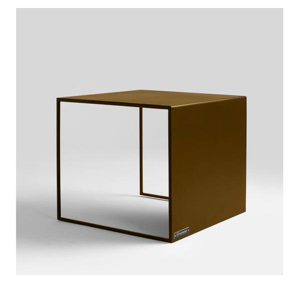 2Wall aranyszínű tárolóasztal - Custom Form