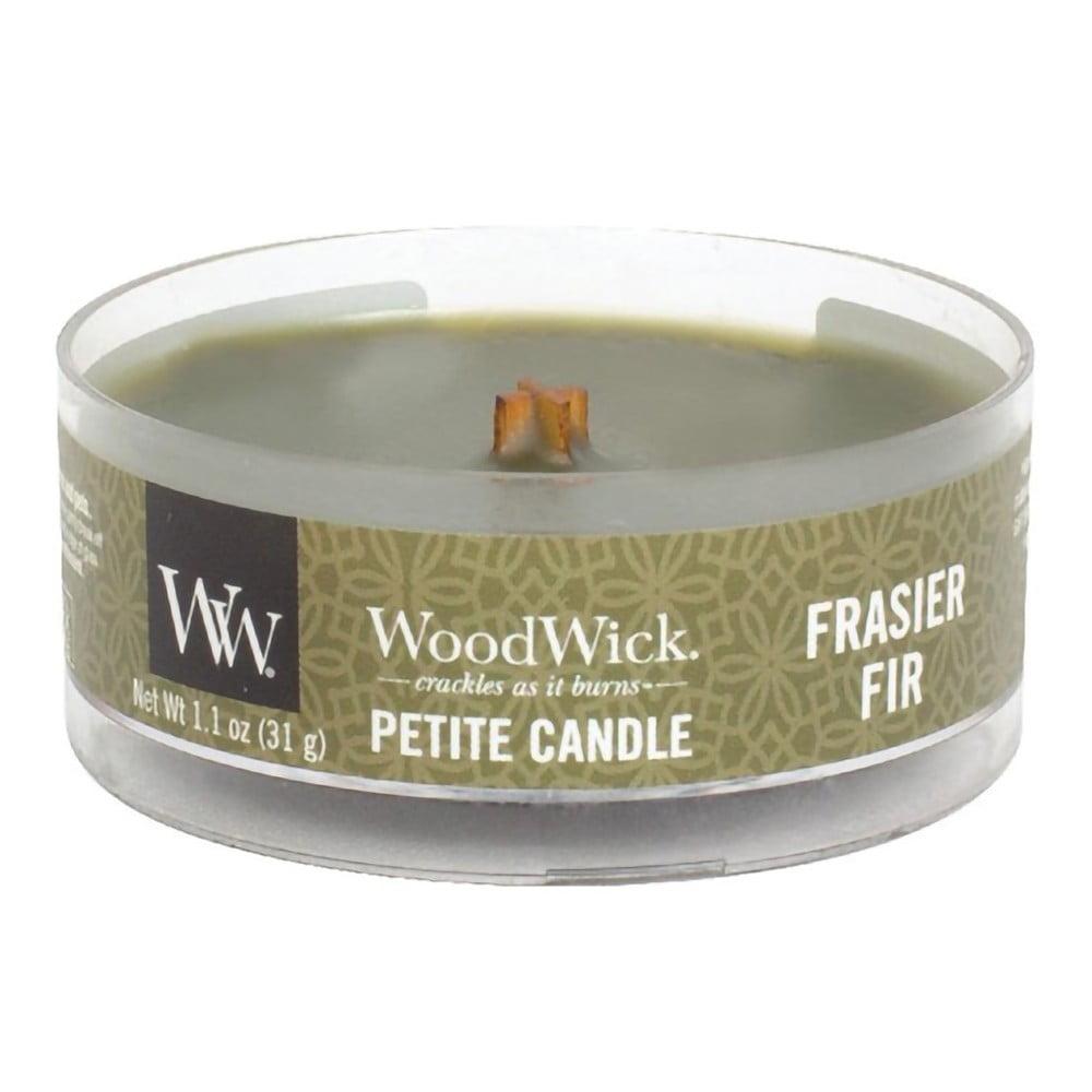 Vonná svíčka WoodWick Jedle, 8hodin hoření