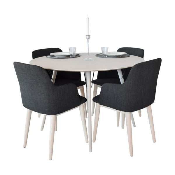Jídelní stůl Urban 90 cm, šedý