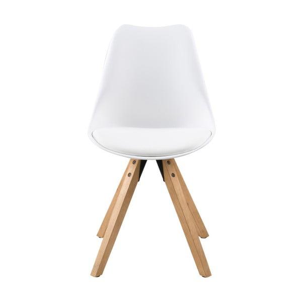 Sada 2 bílých jídelních židlí Actona Dima