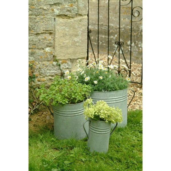 Sada 3 květináčů Planters
