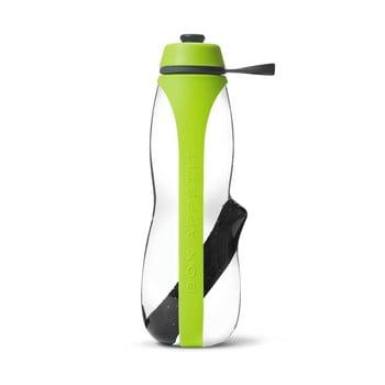 Sticlă sport cu filtru și cărbune binchotan Black + Blum Eau Good Duo, 700 ml, verde de la Black + Blum