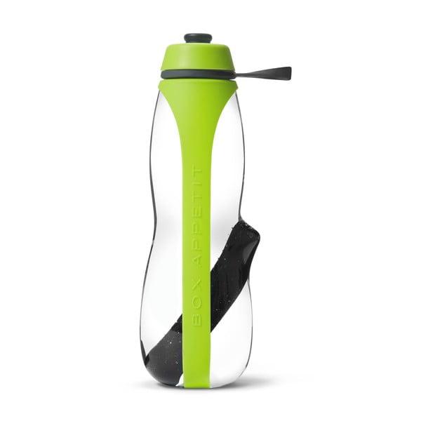 Sticlă sport cu filtru și cărbune binchotan Black + Blum Eau Good Duo, 700 ml, verde