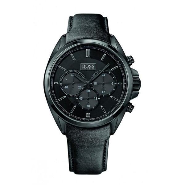 Pánské hodinky s koženým řemínkem Hugo Boss Orion