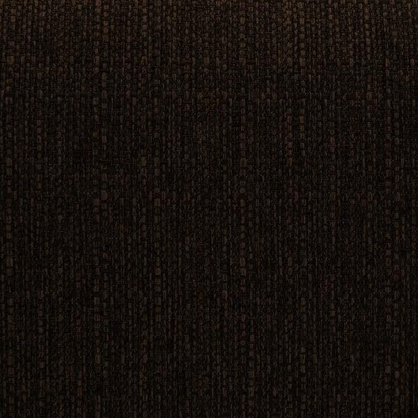 Tmavě hnědá rohová pohovka s lenoškou na levé straně Vivonita Milton