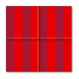 Papírové ubrousky Bordeaux&Red, 20 ks