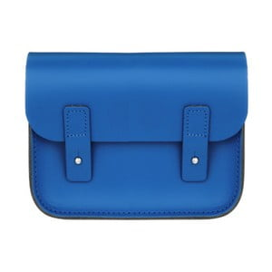 Modrá kožená kabelka Brix + Bailey Mini