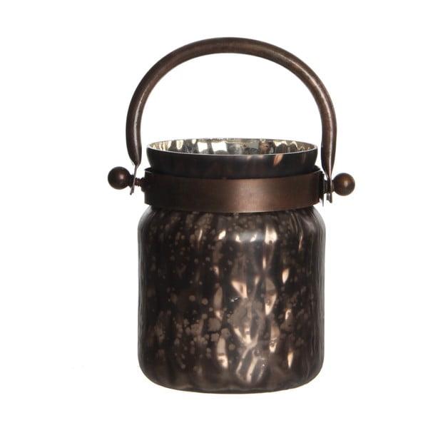 Stojan na svíčku Kito Copper Mat, 18 cm