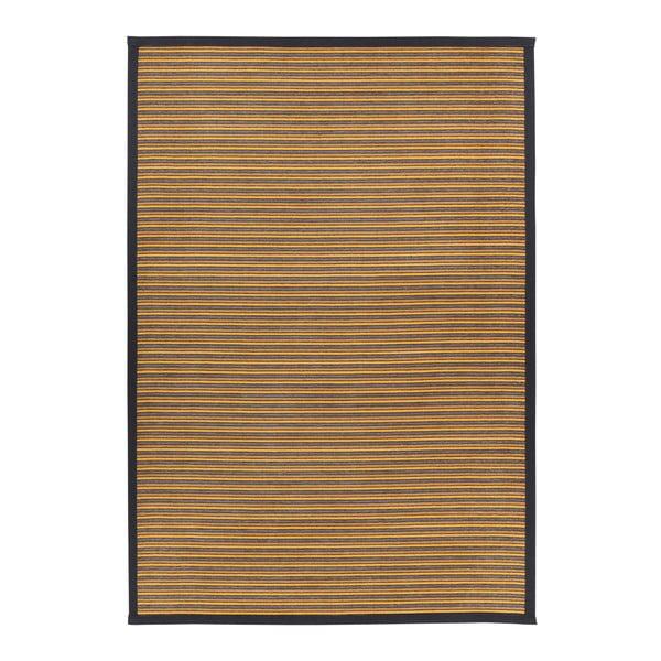 Nehatu Gold konyakbarna kétoldalas szőnyeg, 80 x 250 cm - Narma