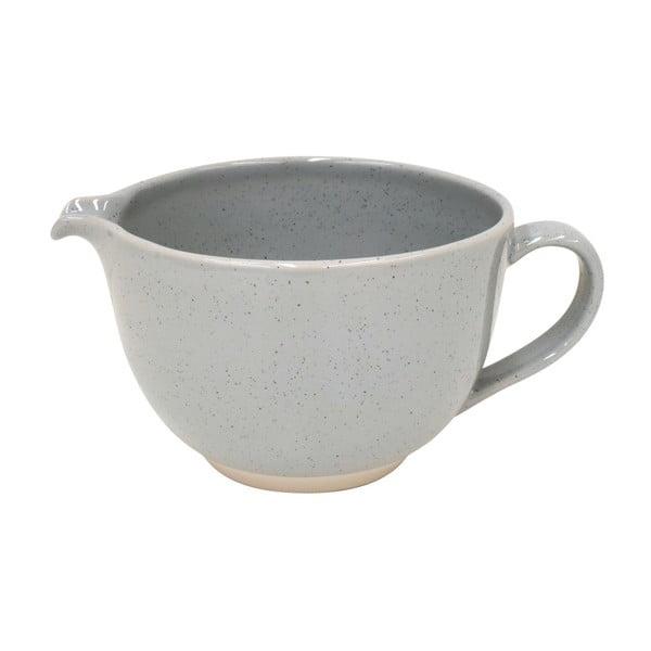 Sivá nádoba na mlieko z kameniny Casafina Fattoria, 2 l