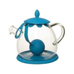 Čajová konvice se sítkem Ramponi Turquoise