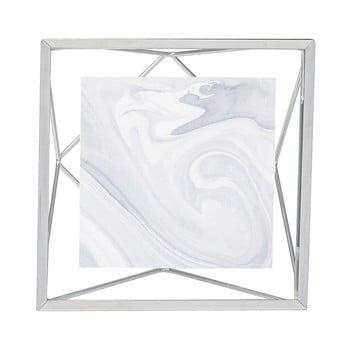 Ramă foto 10 x 10 cm Umbra Prisma, argintiu imagine