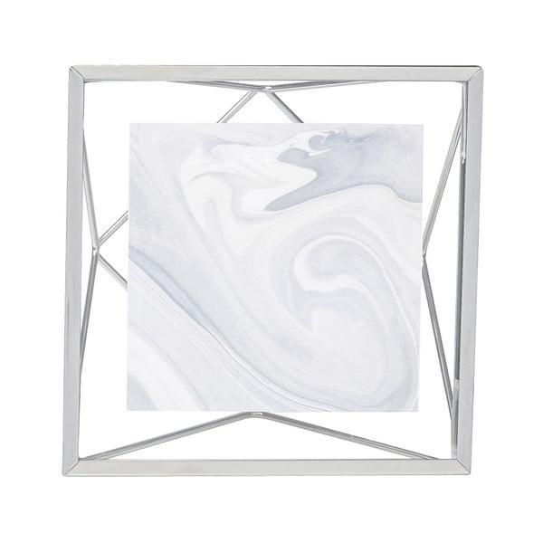 Ramă foto 10 x 10 cm Umbra Prisma, argintiu