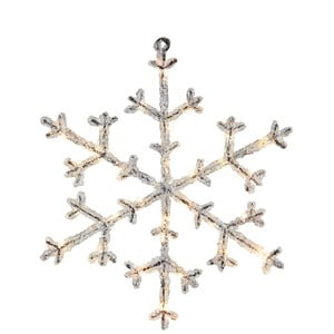 Decorațiune cu LED Best Season Icy Snowflake, 30 cm
