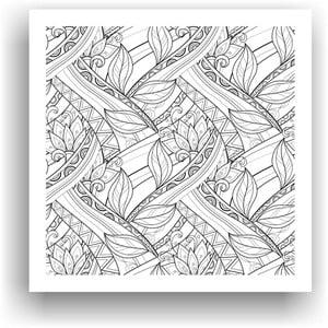 Obraz k vymalování Color It no. 71, 50x50 cm