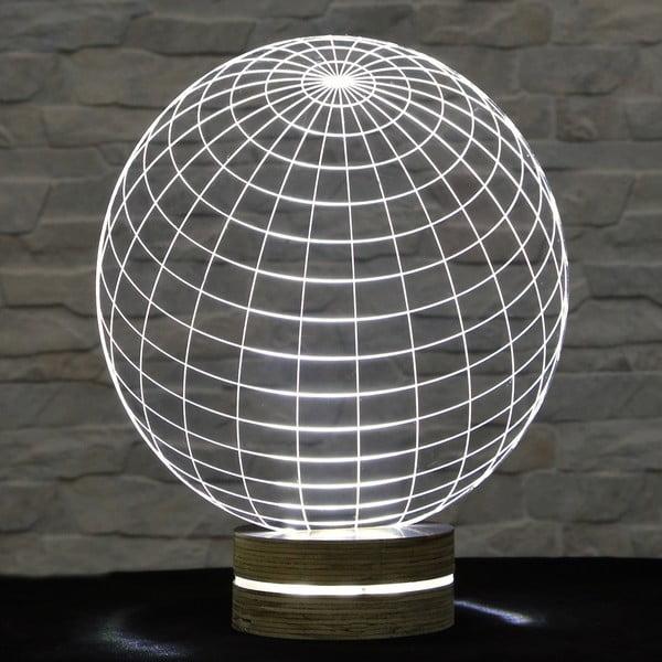 3D stolní lampa Globe