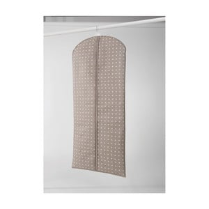 Husă mare pentru îmbrăcăminte Compactor Dots, 137 cm, bej