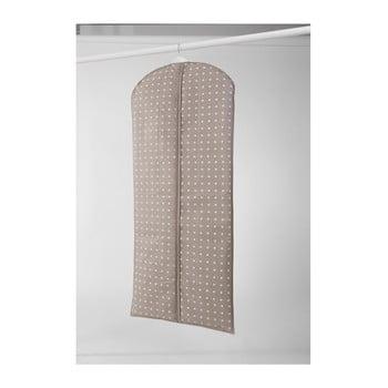 Husă mare pentru haine Compactor Dots, 137 cm, bej imagine