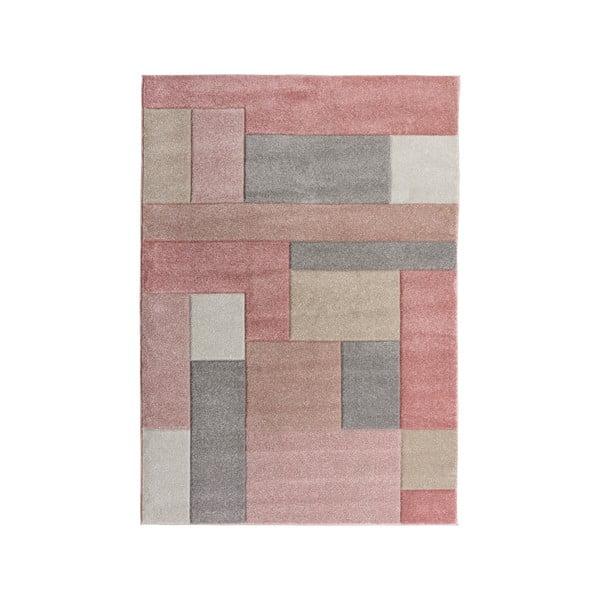Różowy dywan Flair Rugs Cosmos, 120x170 cm