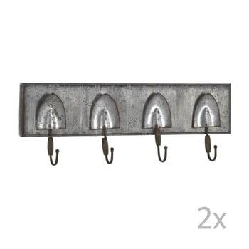 Set 2 cuiere din metal pentru perete Geese Gardener imagine