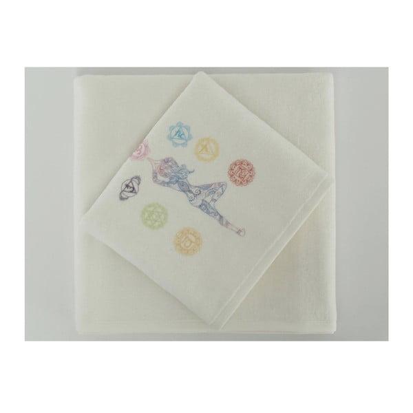 Sada 2 ručníků Sembol, 50x90 cm + 70x140 cm