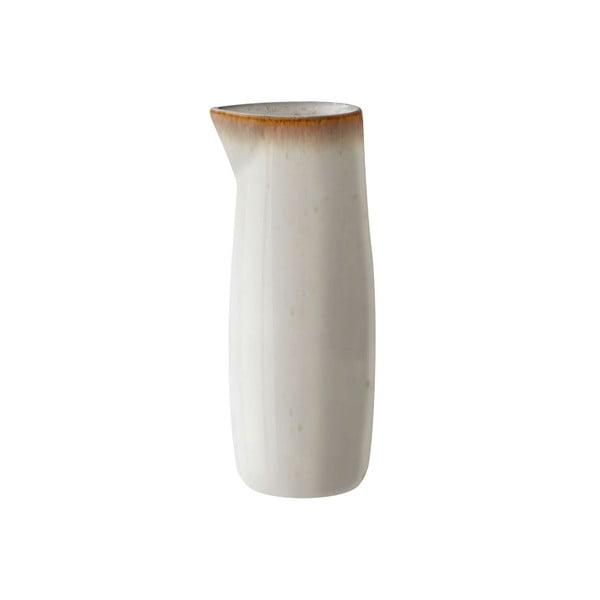 Krémový kameninový džbánek na mléko Bitz Basics Cream, 0,5 l