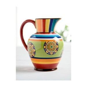 Carafă colorată din ceramică Brandani Etno