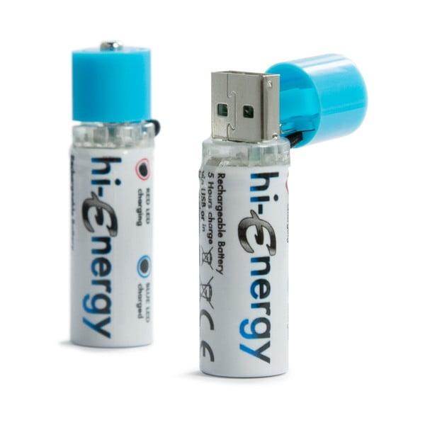 Dobíjecí baterie Hi-Energy, 2 ks