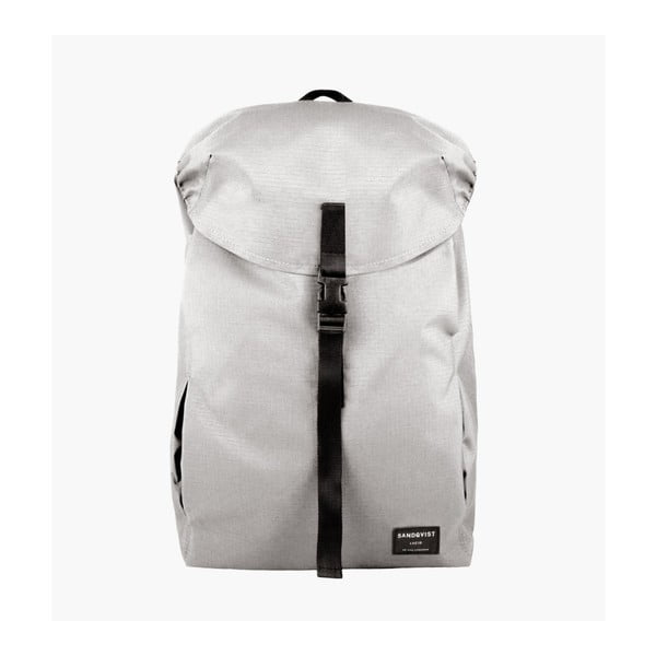 Světle šedý batoh z ripstopu Sandqvist Ivan
