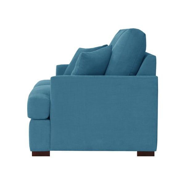 Třímístná pohovka Jalouse Maison Irina, modrá