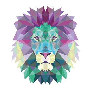 Autocolant Ambiance Origami Lion