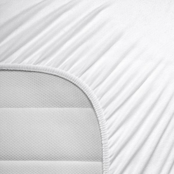 Bílé elastické prostěradlo Homecare,80-100x200cm