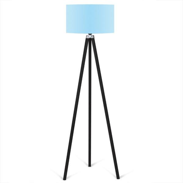 Lampadar Kate Louise Siyah, albastru deschis - negru