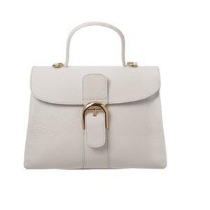Bílá kožená kabelka Tina Panicucci Shool