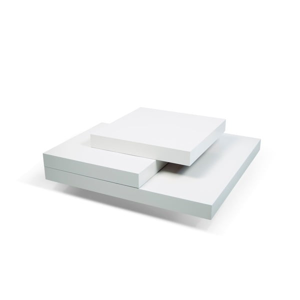 Slate fehér dohányzóasztal - TemaHome