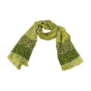 Šátek s příměsí hedvábí Shirin Sehan - Moana Pine