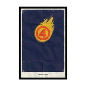 Plakát Human Torch, 35x30 cm