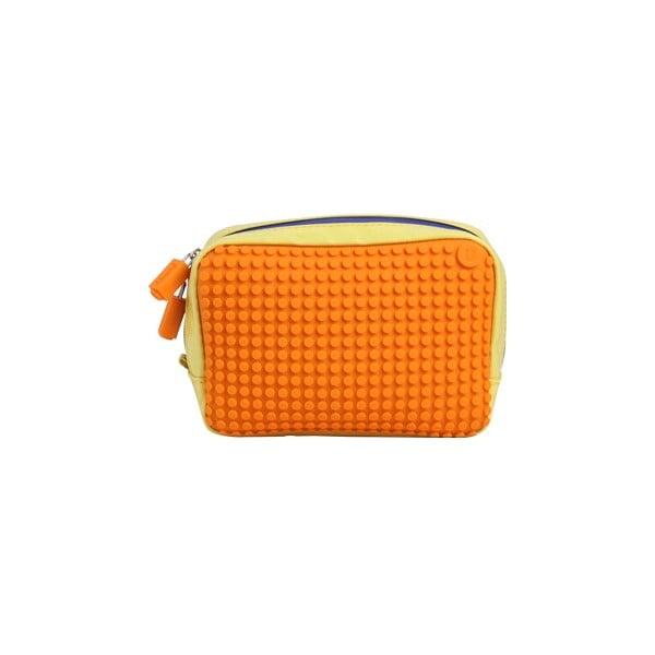 Pixelová příruční taštička, yellow/orange