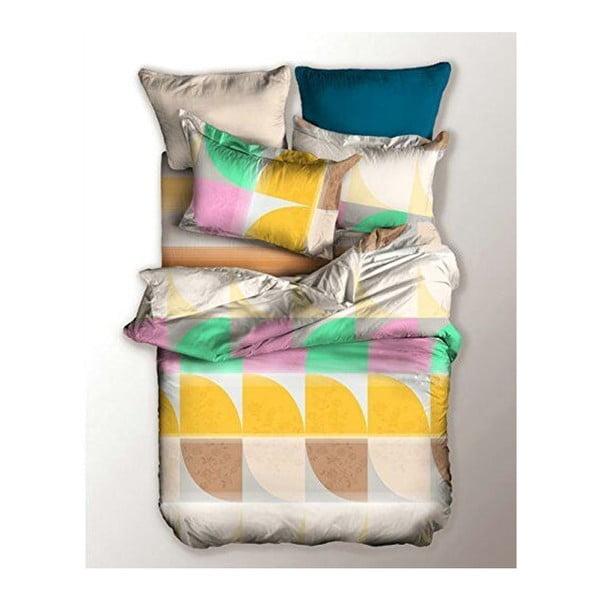 Lenjerie de pat din microfibră pentru pat de 1 persoană DecoKing Basic Nature, 155 x 220 cm