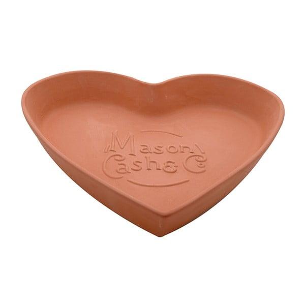 Vas teracotă Heart, 28 cm