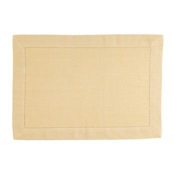 Suport pentru farfurie Blyco Indi, 35 x 50 cm, galben imagine