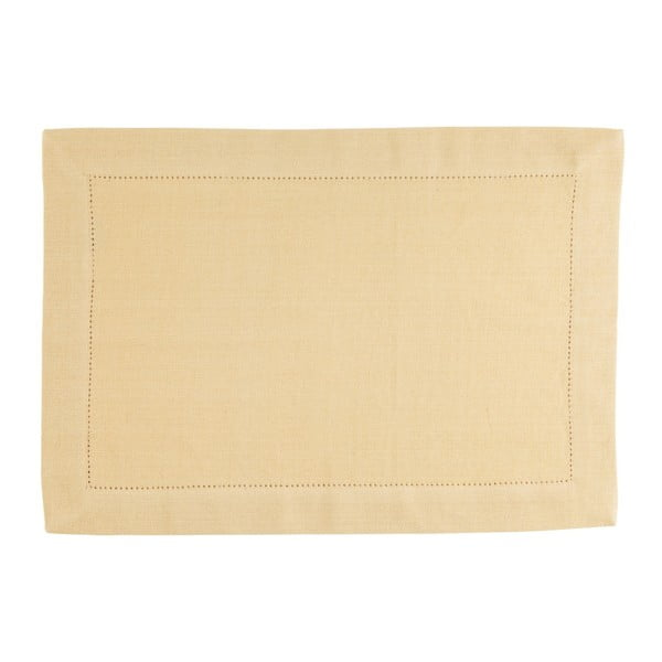 Suport pentru farfurie Blyco Indi, 35 x 50 cm, galben