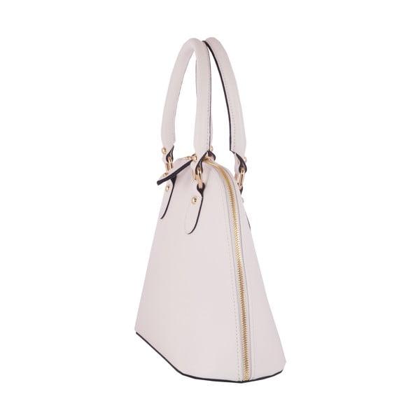 Kožená kabelka Andrea Cardone 2025 White