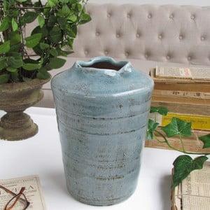 Váza Castoccio Turquoise, 16x25 cm