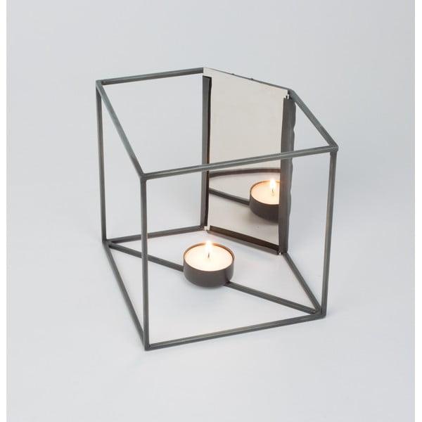 Stojan na svíčku se zrcátkem Light