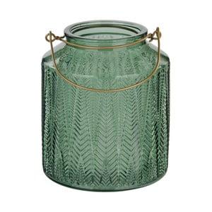 Zelený svícen na čajovou svíčku Native Cadena, ⌀14 cm