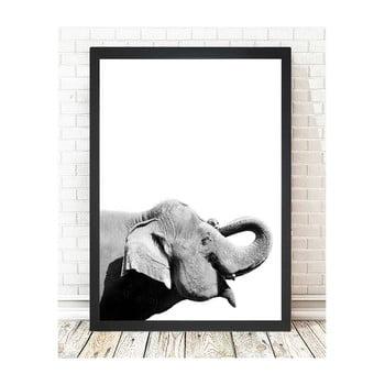 Tablou Tablo Center Elephant, 24x29cm
