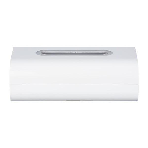 Biely zásobník na papierové vreckovky Wenko Oria